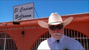 Daniel Buckley at work on El Casino Ballroom documentary