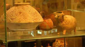 Samples from the Arizona State Museum pottery display.